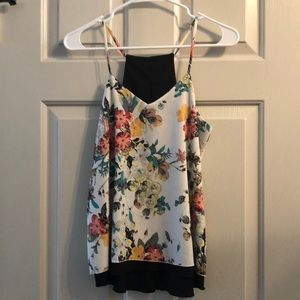 Reversible floral tank